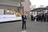 JAグループ岡山が被災地へ物資支援